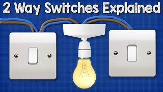 Two Way Switching Explained - How to wire 2 way light switch