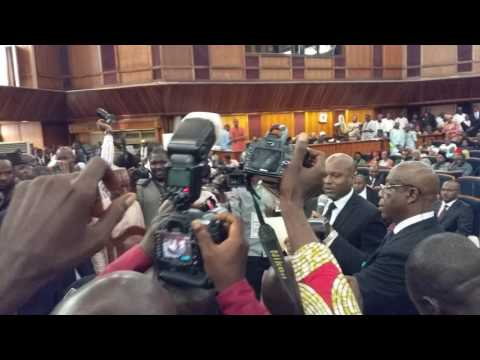 Swearing-In Ceremony of newly appointed NICN judges