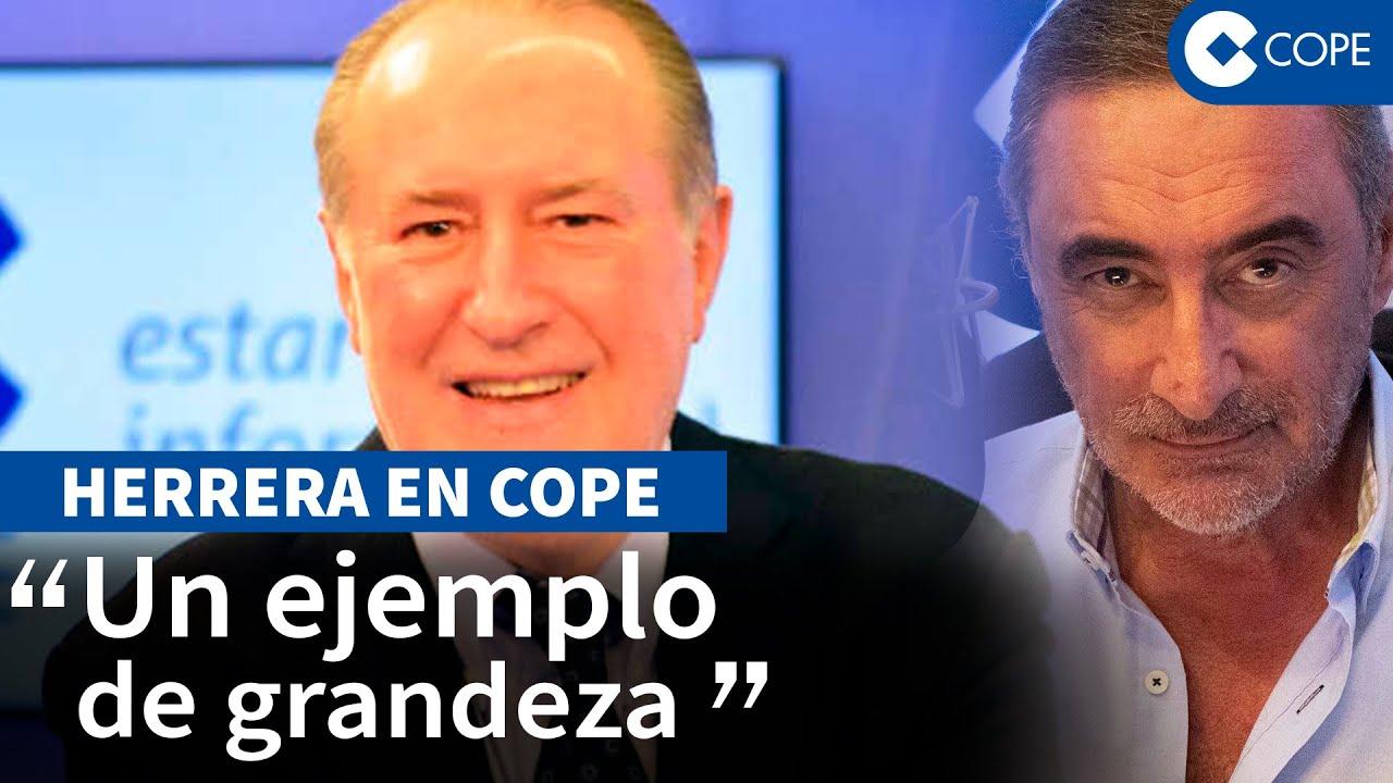 """La emotiva despedida de Herrera a Gay de Liébana: """"Llanto a raudales"""""""