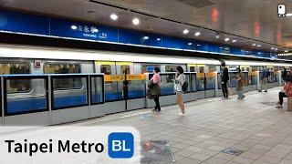 台北捷運︱板南線︱永寧站 月台門啟用 列車進出站