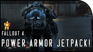 "Fallout 4 Gameplay Walkthrough Part 42 – ""POWER ARMOR JETPACK & SETTLEMENT BUILDING!"""