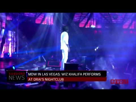 MDW in Vegas: Wiz Khalifa Performs At Drai's