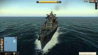 Let's Play Silent Hunter 5: Gameplay Sinking USA Battleships & Carriers Part 2 FULL HD