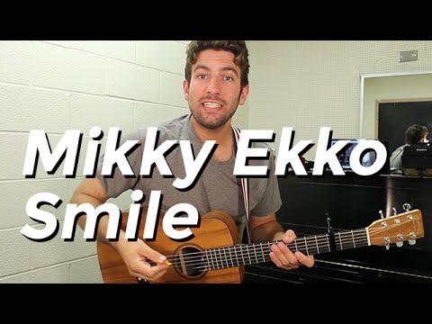 Mikky Ekko - Smile (Guitar Tutorial) by Shawn Parrotte