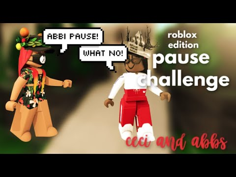 Abbs Roblox Foto Pause Challenge Roblox Edition Ceci Abbs Youtube