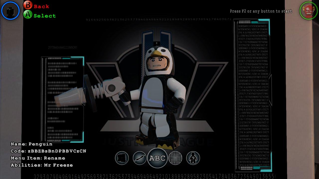Lego Batman 3 Beyond Gotham How To Make Custom Characters Youtube