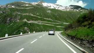Driving in the swiss alps/ Switzerland/ 07.2013/ FullHD