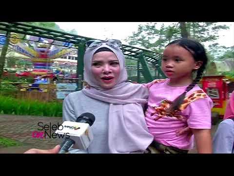 Potret Kedekatan Angel Lelga  Bersama Keempat Anak Vicky Prasetyo - SELEB ON NEWS