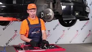 Wie Sie Halter, Stabilisatorlagerung beim BMW 3 Compact (E36) selbstständig austauschen - Videoanleitung