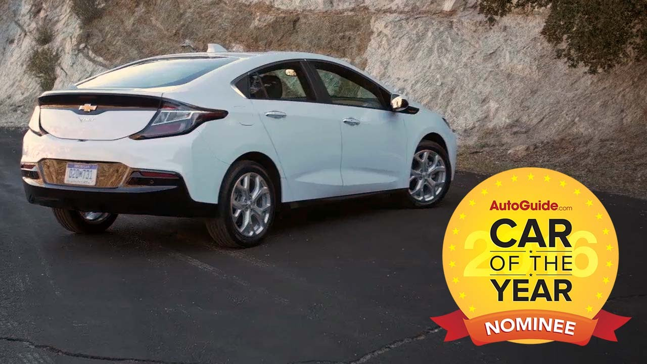 2016 Chevrolet Volt  2016 AutoGuidecom Car of the Year Nominee