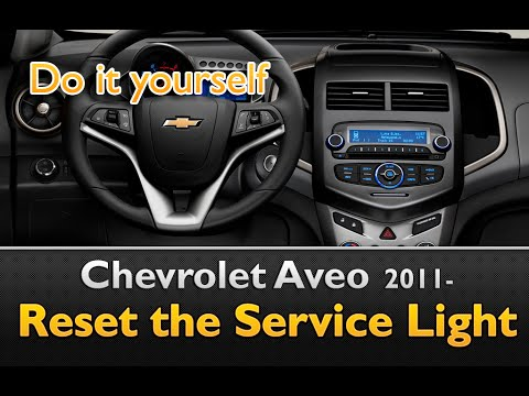 Chevy Aveo Service Light Reset Youtube