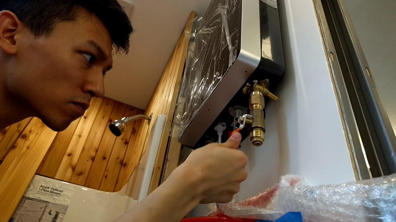Plumbing Propane Tankless Water Heater Youtube