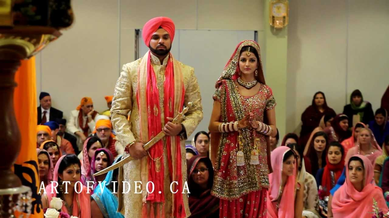 Toronto S Most Watched Cinematic Sikh Punjabi Wedding Trailer Scarborough Gurudwara You