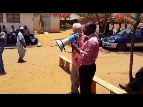 Mangochi'de (Malawi) 500 Müslüman Aileye Mısır Ekim desteğinde konuşmam-1 (29.11.2014)