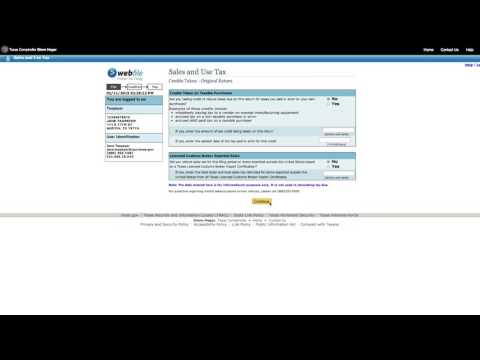 How to File a Sales Tax Return Electronically as a List Filer [Official]