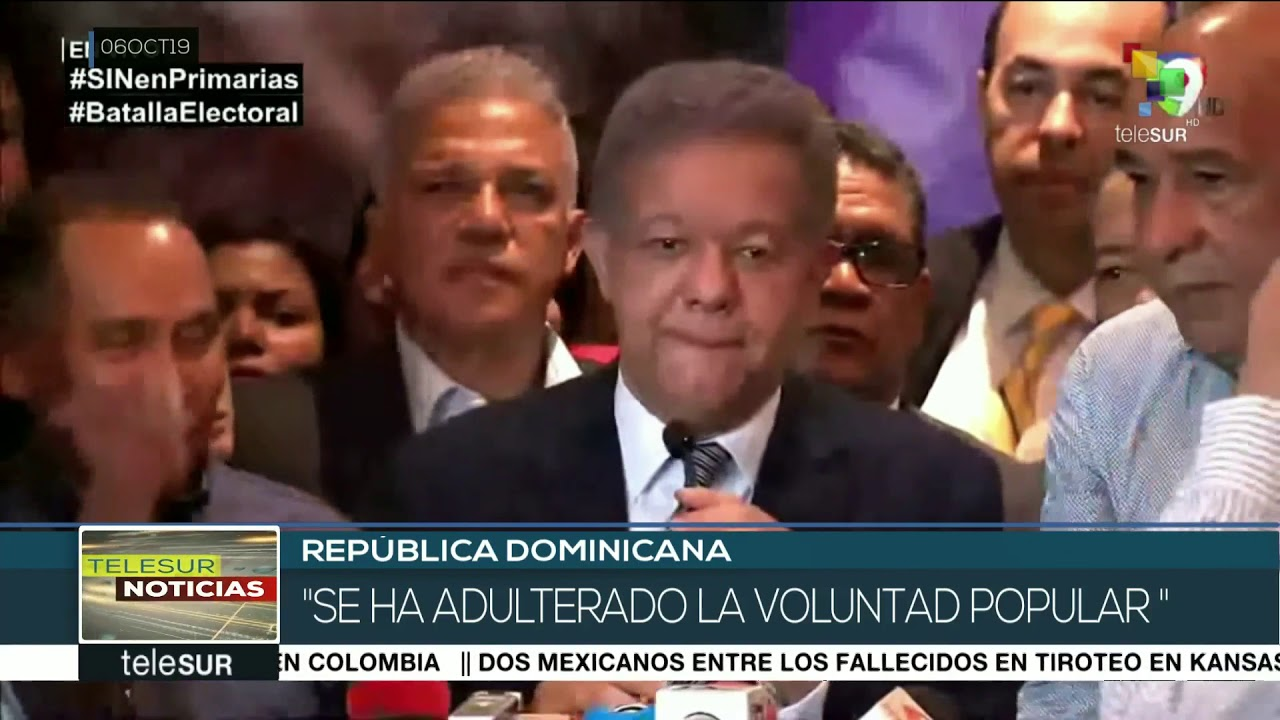Leonel Fernández: se ha adulterado la volunta popular en Dominicana