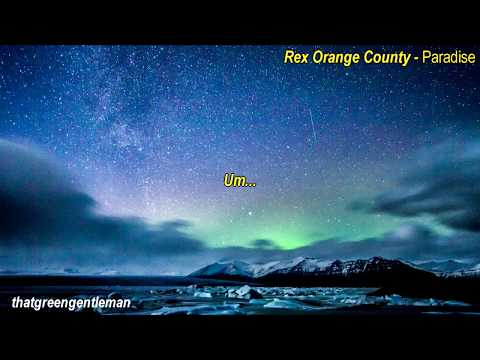 Rex Orange County - Paradise (lyrics)
