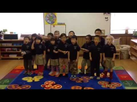 Fifty Nifty United States, Performed by Discovery Montessori Academy, Plano TX