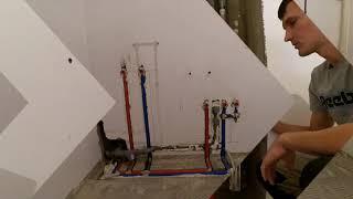 Инженерная сантехника, обзор узлов ввода. Объект на ул. Генерала Трошева 45