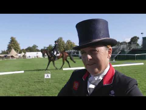 Land Rover Burghley Horse Trials 2019 - Dressage Day 1: Pippa Funnell