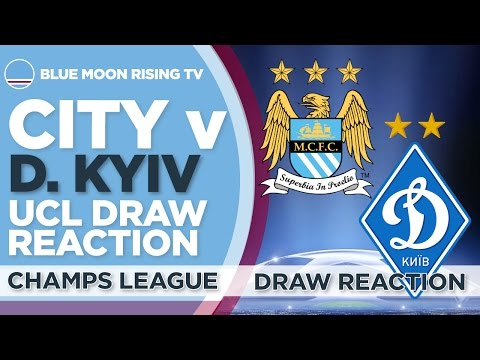 Manchester City Draw Dynamo Kyiv In Champions League! | Draw Reaction