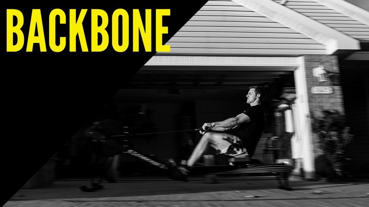 Backbone garage gym workout youtube