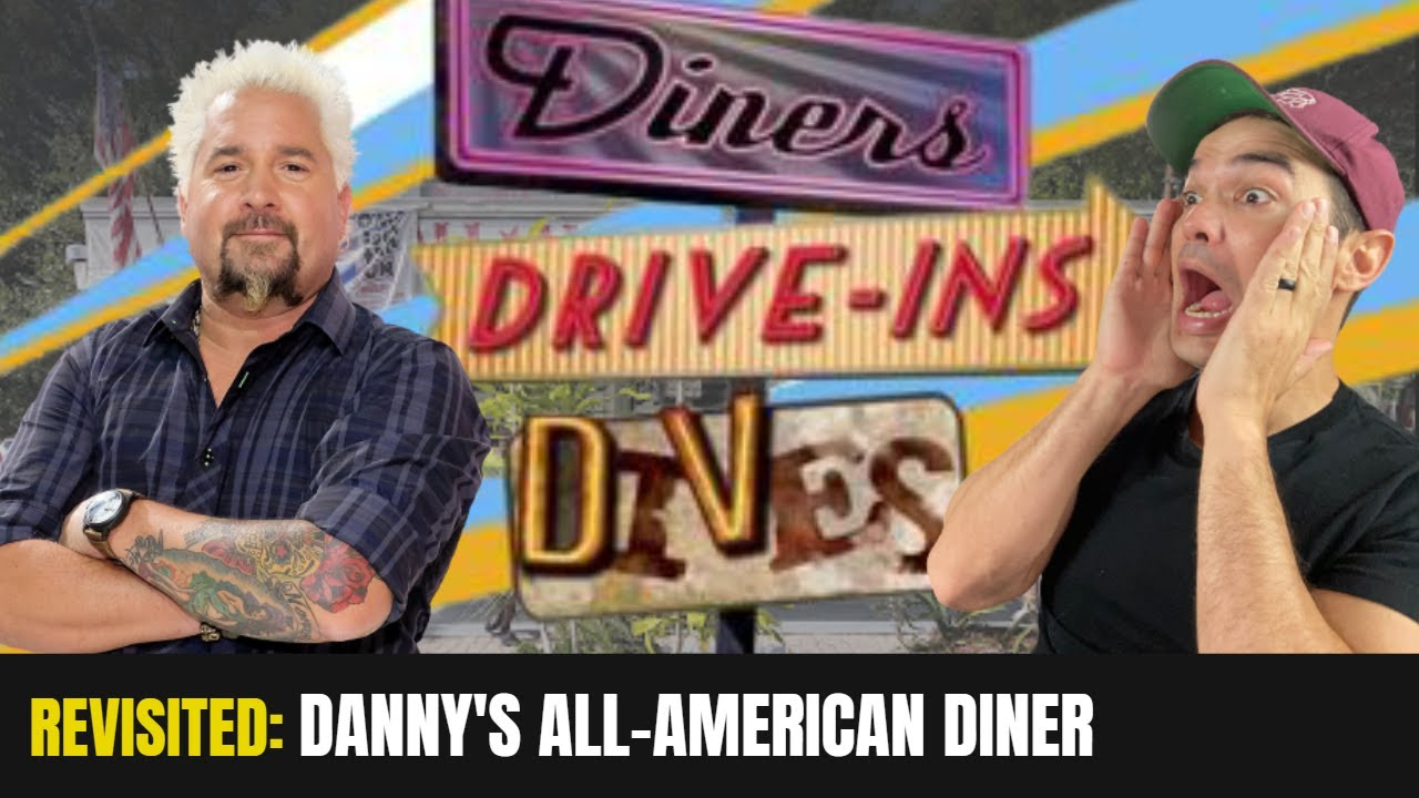 Diners, Drive-Ins and Dives Revisited: Danny's All American Diner -Tampa, FL