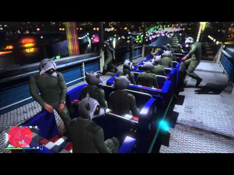Grand Theft Auto V - Raccoon ride!