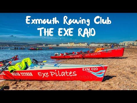 Out & About Exmouth Rowing Club Coastal Rowing & DJI Mavic 2 Drone