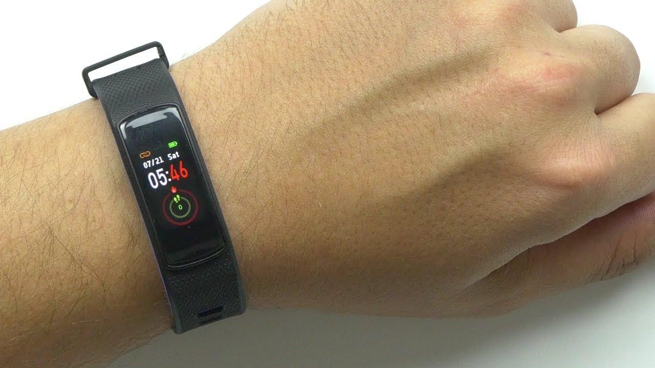 Cool Fitness Tracker w/ USB Charging