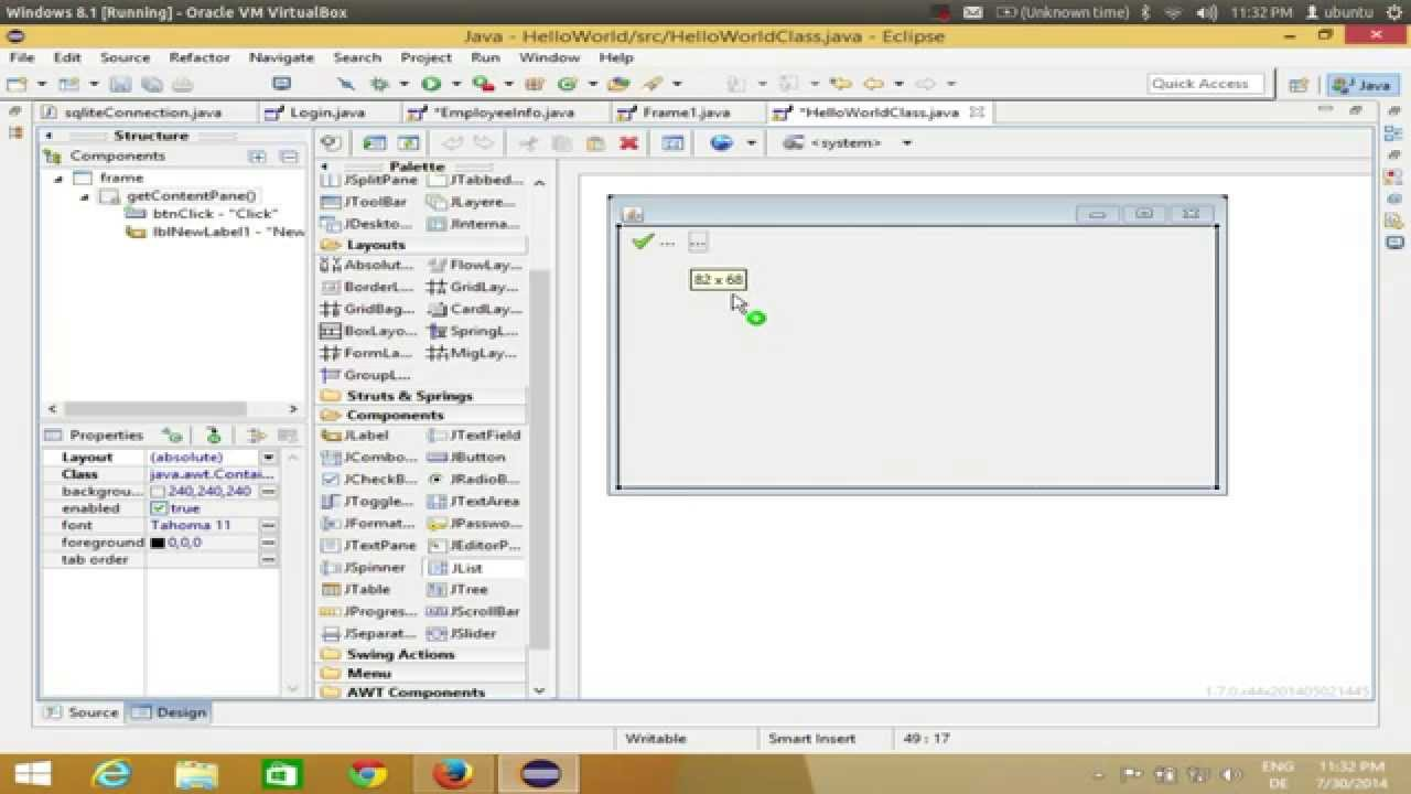 Java eclipse gui tutorial 17 how to use jlist in java youtube java eclipse gui tutorial 17 how to use jlist in java baditri Choice Image