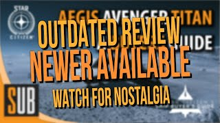 [Newer Review Available]  Aegis Avenger Titan Review - A Star Citizen's Ship Buyer's Guide