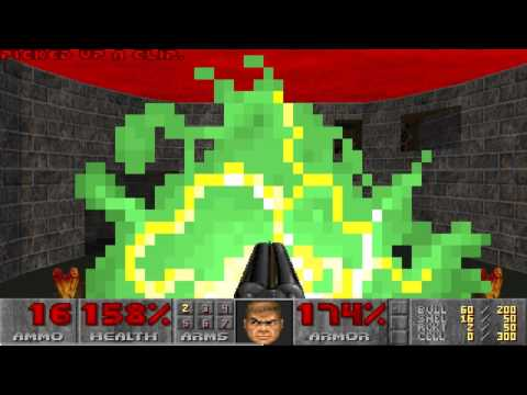 Final Doom The Plutonia Experiment Map19 NM100s in 27s by Zero Master