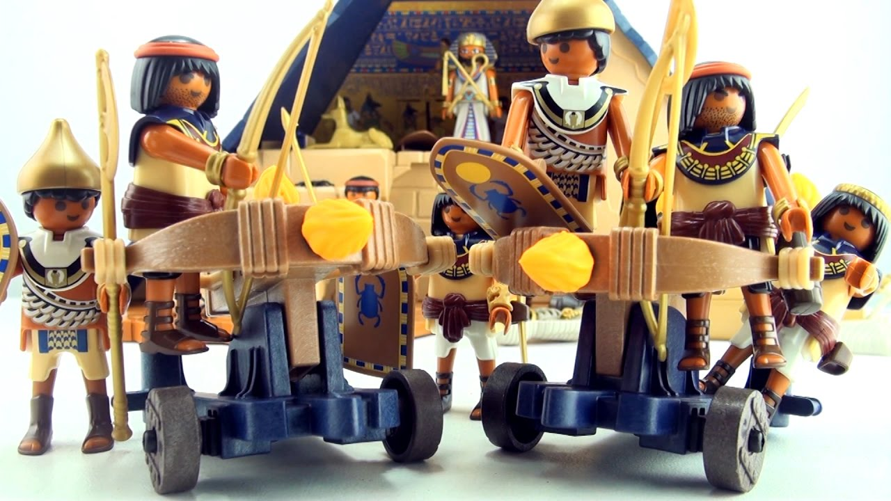 Playmobil egyptian troops and ballista pharaoh 39 s pyramid - Playmobil egyptien ...