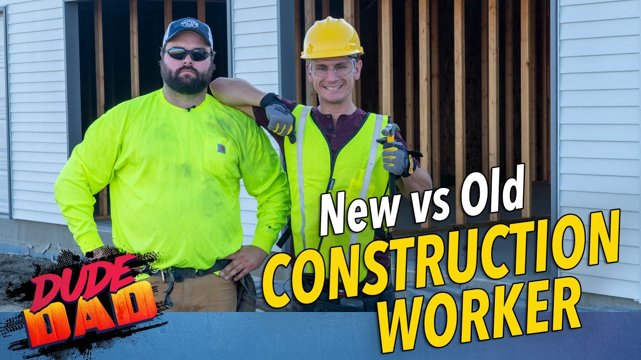 New vs Old Construction Worker