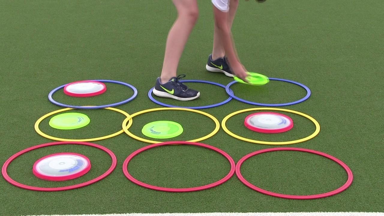 primary pe lesson ideas - ultimate frisbee