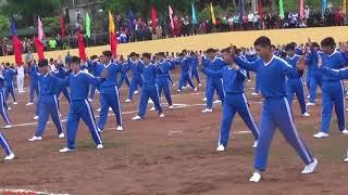 Võ: Dòng Máu Lạc Hồng ( Học sinh Trường THPT Chà Cang tại ĐHTDTT Huyện Nậm Pồ Năm 2017).phần 2