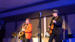 Gene Casey and the Lone Sharks live performance Peter Gunn