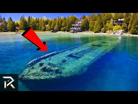 10 Mysterious Abandoned Ships That Can