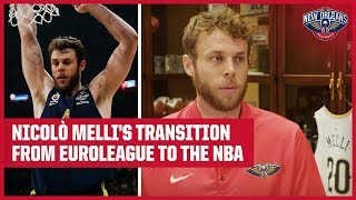 Nicolò Melli's Transition from EuroLeague to NBA | New Orleans Pelicans