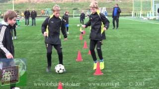 MZISS - Individuální fotbalová škola - Litvínov, koncepční trénink 1.11.2013