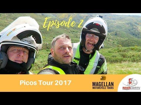 Magellan Motorcycle Tours - Picos Tour 2017 Episode 2