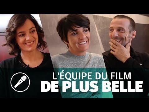 Florence Foresti, Mathieu Kassovitz & Anne-Gaëlle Daval pour « De Plus Belle »