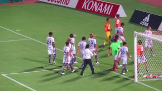 4ー1で快勝後 ゴール裏へ 横浜Fマリノスーサンフレッチェ広島 ニッパ...