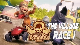 Coffin Dodgers Walkthrough Gameplay Detonado  Story Mode - The Village Race 1 - No Commentary PC