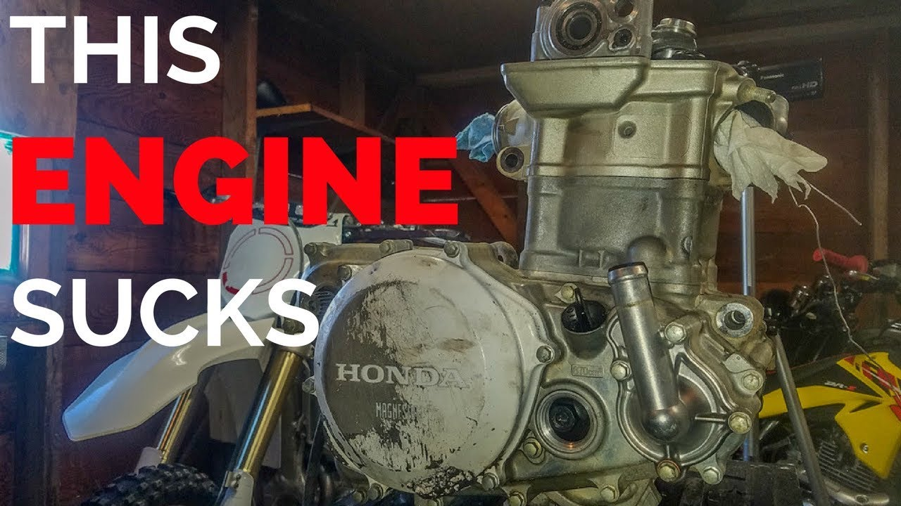 Shimming the Valves On A Crf450 [2008 Honda CRF450r][S2E6