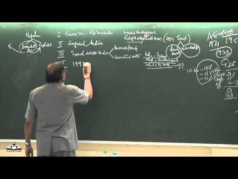 s.gurumurthy's lecture 1