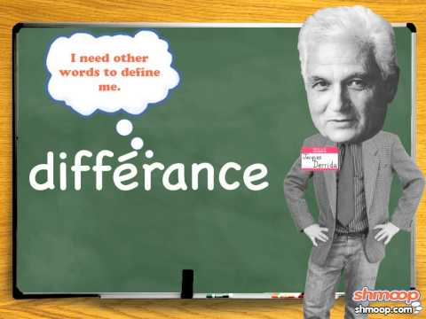 Jacques Derrida by Shmoop