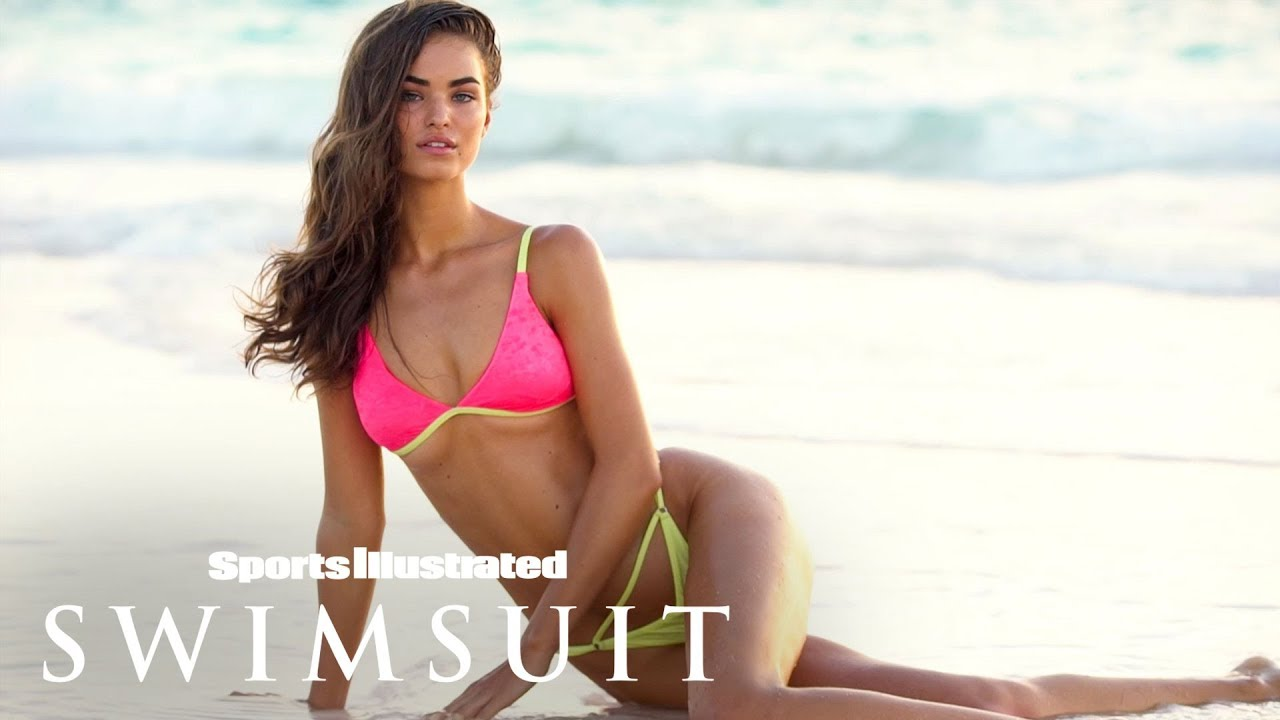 Robin Holzken auf den Bahamas für Sports Illustrated Swimsuit