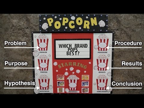 Award Winning Science Fair Layout ArtSkills Project Tip YouTube - Layout of a science fair board